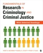 Fundamentals of Research in Criminology and Criminal Justice ebook by Ronet D. Bachman,Russell K. Schutt,Margaret (Peggy) S. (Suzanne) Plass
