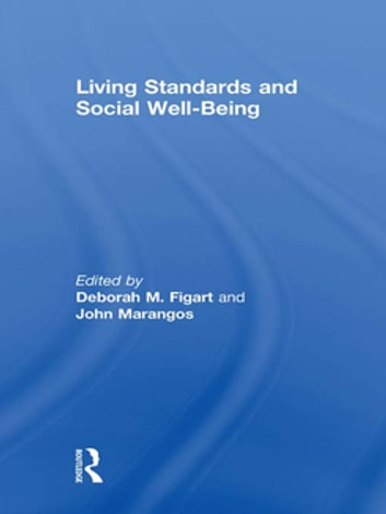 Living Standards and Social Well-Being ebook by