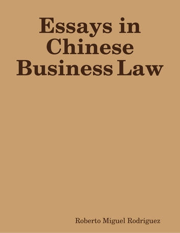 essays in chinese business law
