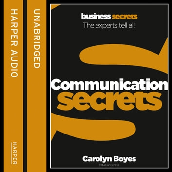 Communication (Collins Business Secrets) audiobook by Carolyn Boyes