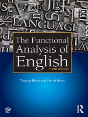The Functional Analysis of English ebook by Thomas Bloor,Meriel Bloor