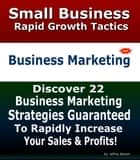 Business Marketing Strategies | Rapid Business And Marketing Growth Strategies ebook by Jeffrey Benson