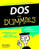 DOS For Dummies ebook by Dan Gookin