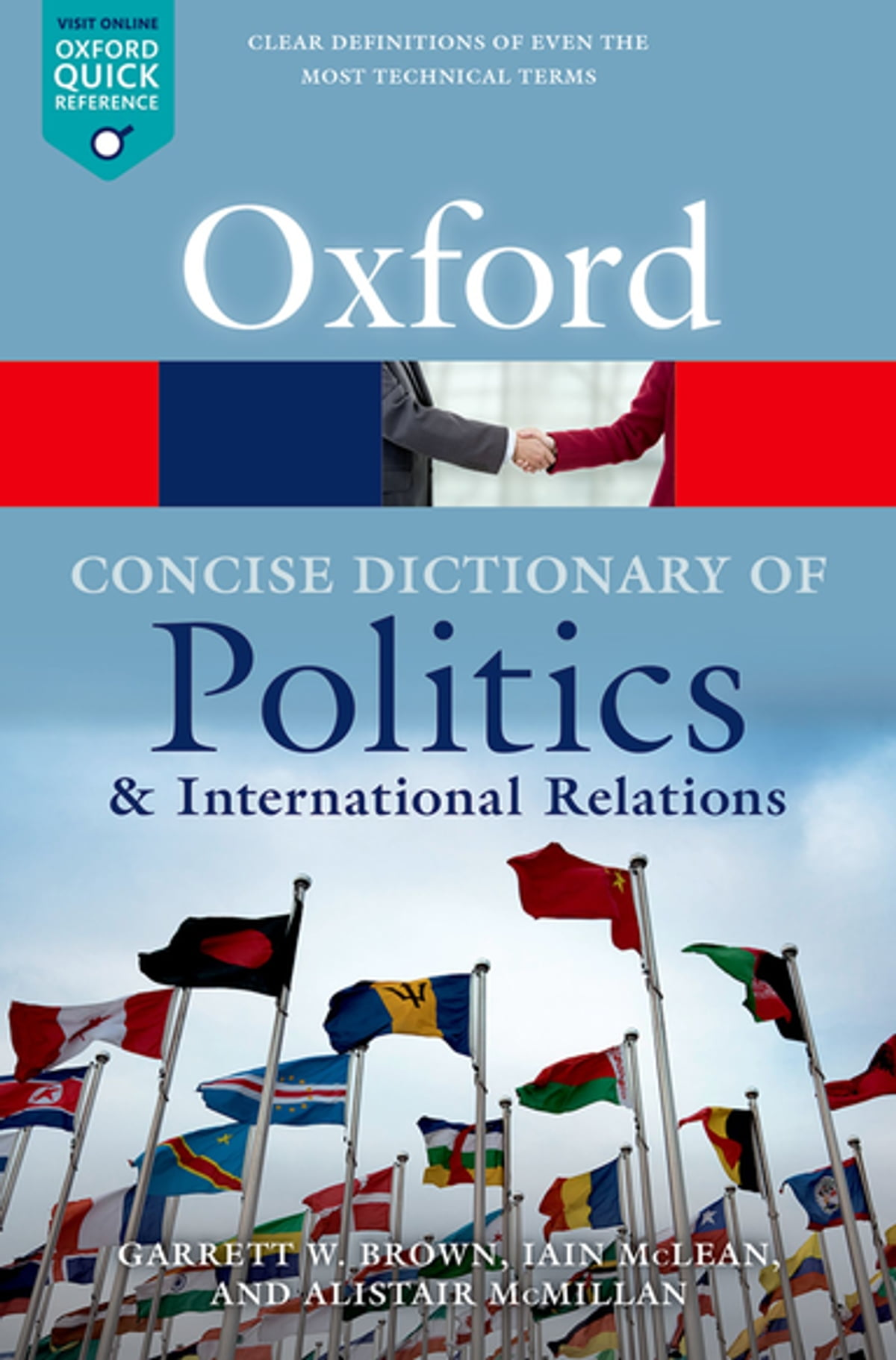 The Concise Oxford Dictionary of Politics and International Relations eBook  by Garrett W Brown - 9780192545848 | Rakuten Kobo