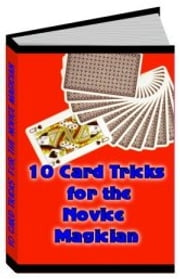 10 Card Tricks for the Novice Magician ebook by Sven Hyltén-Cavallius