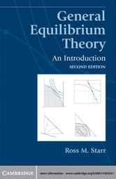 General Equilibrium Theory - An Introduction ebook by Ross M. Starr