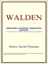 Walden (Webster's Spanish Thesaurus Edition) ebook by Icon Reference