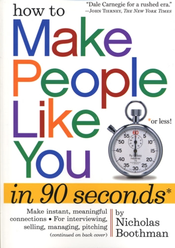 How to make people like you in 90 seconds or less ebook by how to make people like you in 90 seconds or less ebook by nicholas boothman fandeluxe Document