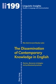 The Dissemination of Contemporary Knowledge in English ebook by Rita Salvi,Janet Bowker