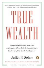 True Wealth - How and Why Millions of Americans Are Creating a Time-Rich, Ecologically Light, Small-Scale, High-Satisfaction Economy ebook by Juliet B. Schor