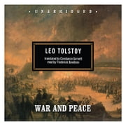 War and Peace audiobook by Leo Tolstoy
