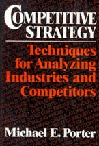 Competitive Strategy, Techniques for Analyzing Industries and Competitors