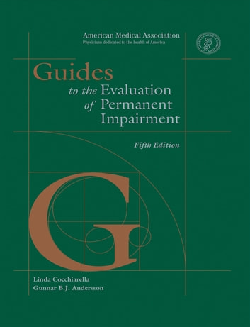 Ama store: ama guides® to the evaluation of permanent impairment.
