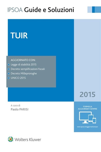 Tuir 2015 ebook by PAOLO PARISI