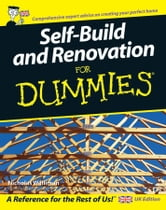 Self Build and Renovation For Dummies ebook by Nicholas Walliman