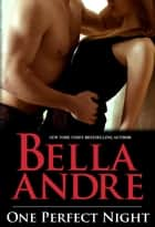 One Perfect Night (Seattle Sullivans #0.5) ebook by Bella Andre