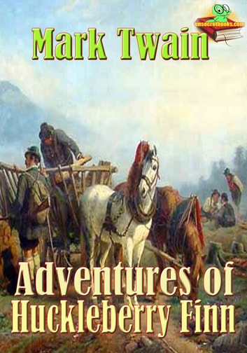 Adventures of Huckleberry Finn: The Great American Novels - (With Audiobook Link) ebook by Mark Twain