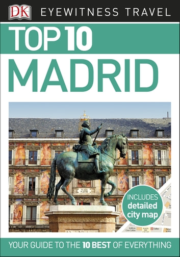 Top 10 Madrid ebook by DK Travel