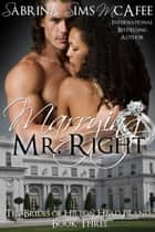 MARRYING MR. RIGHT ebook by Sabrina Sims McAfee