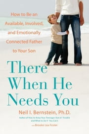 There When He Needs You - How to Be an Available, Involved, and Emotionally Connected Father to Your Son ebook by Neil I. Bernstein, Ph.D.,Brooke Lea Foster