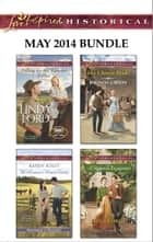Love Inspired Historical May 2014 Bundle - Falling for the Rancher Father\The Horseman's Frontier Family\His Chosen Bride\A Rumored Engagement ebook by Linda Ford, Karen Kirst, Rhonda Gibson,...