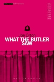 What The Butler Saw ebook by Joe Orton