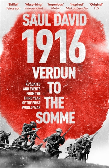 1916: Verdun to the Somme - Key Dates and Events from the Third Year of the First World War ebook by Saul David
