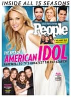 PEOPLE The Best of American Idol ebook by The Editors of PEOPLE