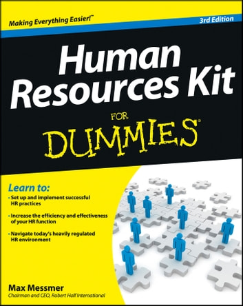 Human Resources Kit For Dummies ebook by Max Messmer