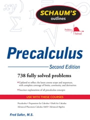 Schaum's Outline of PreCalculus, 2nd Ed. ebook by Fred Safier