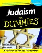 Judaism For Dummies ebook by Rabbi Ted Falcon, David Blatner