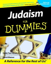 Judaism For Dummies ebook by Rabbi Ted Falcon,David Blatner