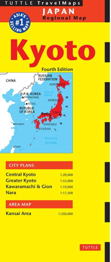 Kyoto Travel Map Fourth Edition ebook by