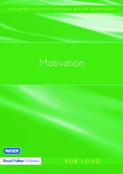 Motivation ebook by Rob Long