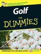 Golf For Dummies ebook by Alicia Harney, Alice Cooper, Gary McCord