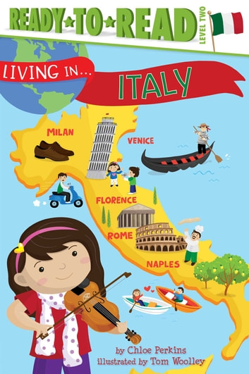 Living in . . . Italy - with audio recording ebook by Chloe Perkins