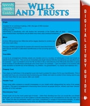 Wills And Trusts (Speedy Study Guides) ebook by Speedy Publishing