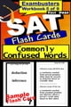 SAT Test Prep Commonly Confused Words Review--Exambusters Flash Cards--Workbook 5 of 9 - SAT Exam Study Guide ebook by SAT Exambusters