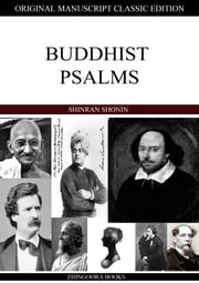 Buddhist Psalms ebook by Shinran Shonin