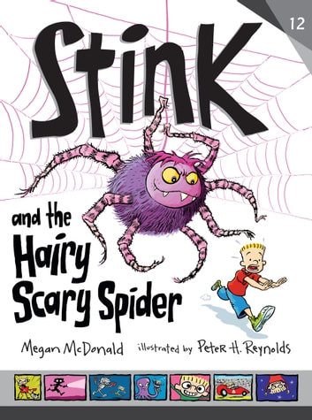 Stink and the Hairy Scary Spider ebook by Megan McDonald