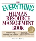 The Everything Human Resource Management Book ebook by Sharon Anne Waldrop