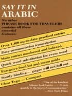 Say It in Arabic ebook by Dover