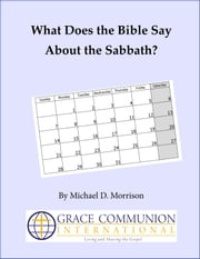 What Does the Bible Say About the Sabbath? ebook by Michael Morrison