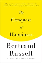 The Conquest of Happiness ebook by Bertrand Russell,Daniel C. Dennett