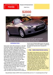 Honda S2000 Buyers' Guide ebook by Mellor, Chris