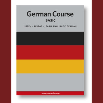 German Course - Basic audiobook by Ann-Charlotte Wennerholm
