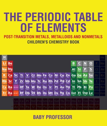 The periodic table of elements post transition metals metalloids the periodic table of elements post transition metals metalloids and nonmetals childrens urtaz Choice Image