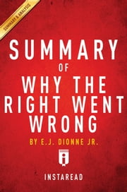 Summary of Why the Right Went Wrong - by E.J. Dionne | Includes Analysis ebook by Instaread Summaries
