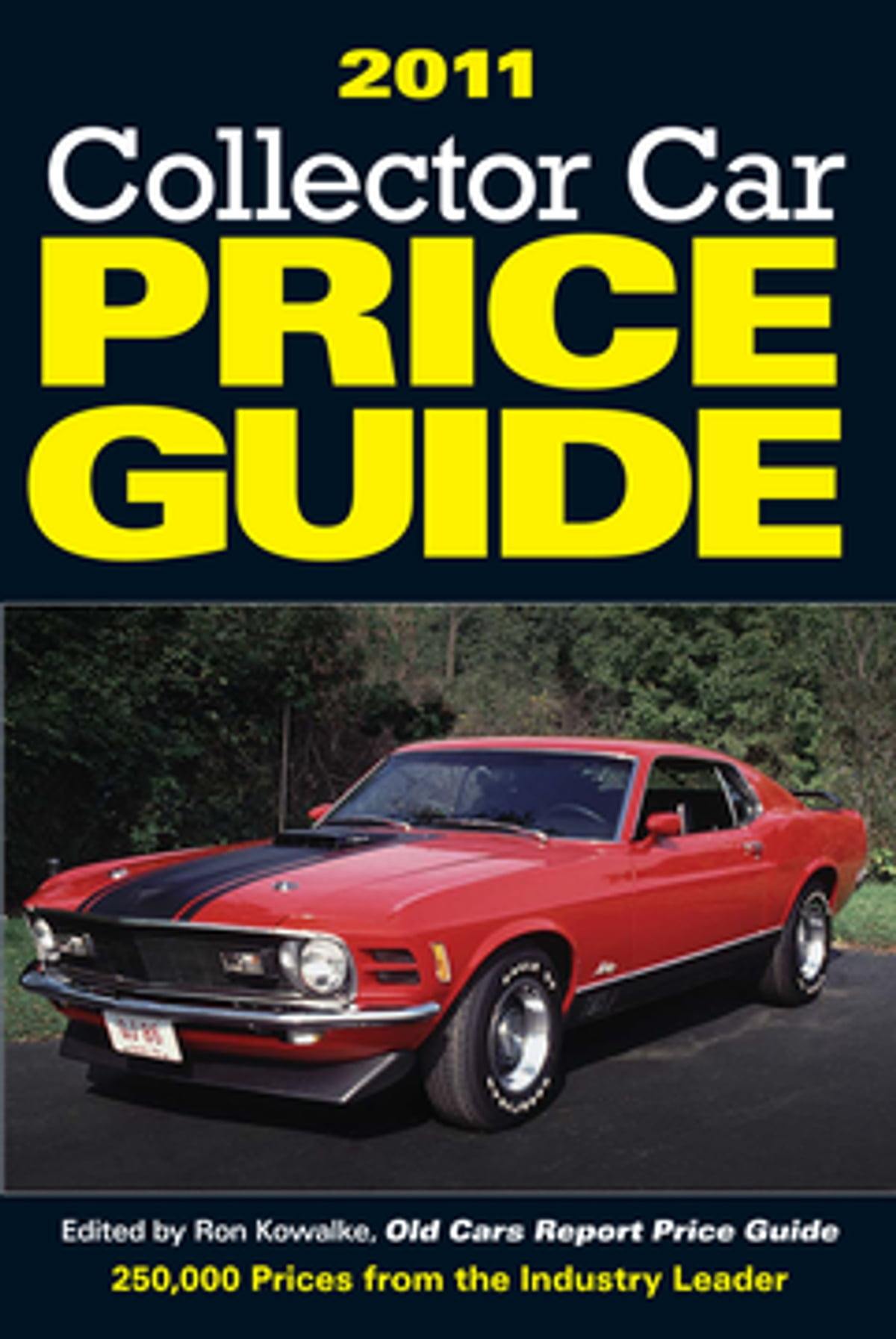Collector Car Price Guide EBook By Ron Kowalke - Classic car guide