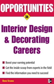 Opportunities in Design and Decorating Careers ebook by David Stearns